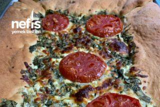 Ispanaklı/Peynirli Pizza Tarifi