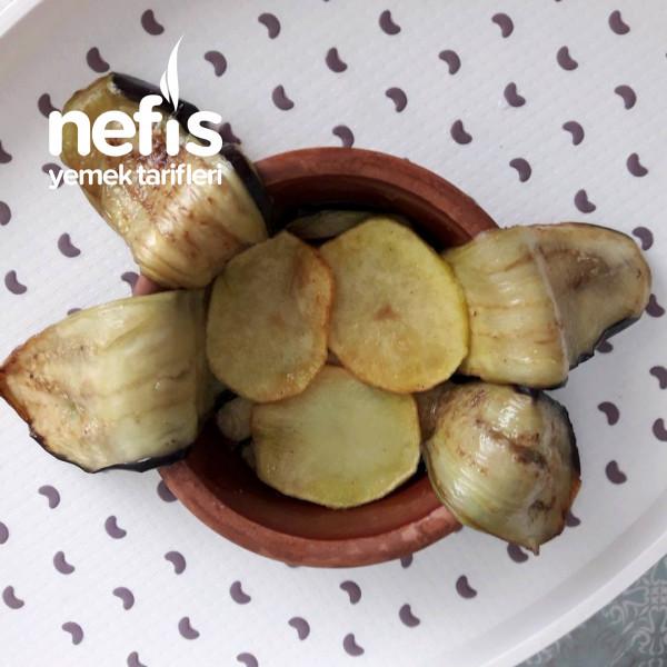 Misket Köfteli Patlıcan Kapama