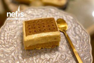 Nescafeli (Hafif , Pratik) Enfes Yaş Pasta Tarifi