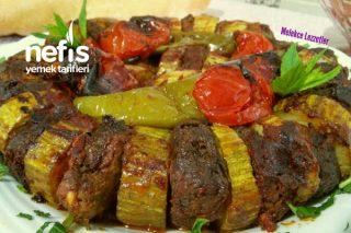 Pratik Kabak Kebabı (Köfteli Kabak Dizme) Tarifi