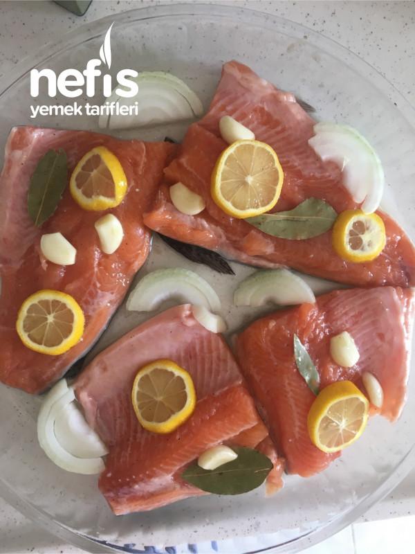 Somon Balığı (Fırında)