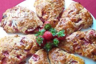 Strawberry Scones (Çilekli Çörek) Tarifi