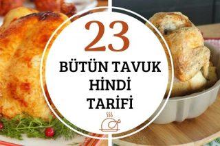 Bütün Tavuk ve Hindi Tarifleri Tarifi