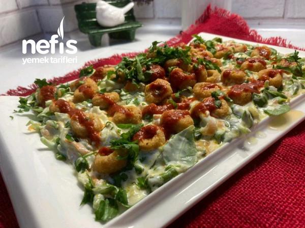Fellah Köfteli Semizotu Salatası