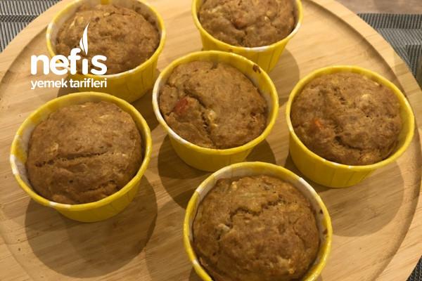 Kabaklı Patatesli Peynirli Besleyici Bebek Muffin (+12) Tarifi