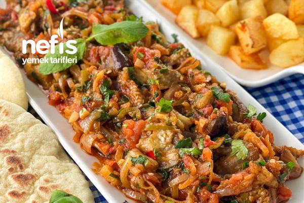 Patlıcan Çullama (Köz Patlıcanlı) Tarifi