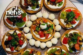 Patlıcanlı Biberli Kanepe Tarifi