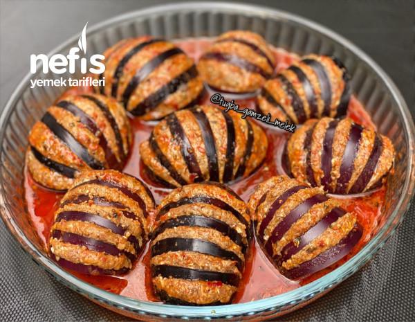Yelpaze Şekilli Patlıcan Kebabı (Bu Yemek Bir Harika)