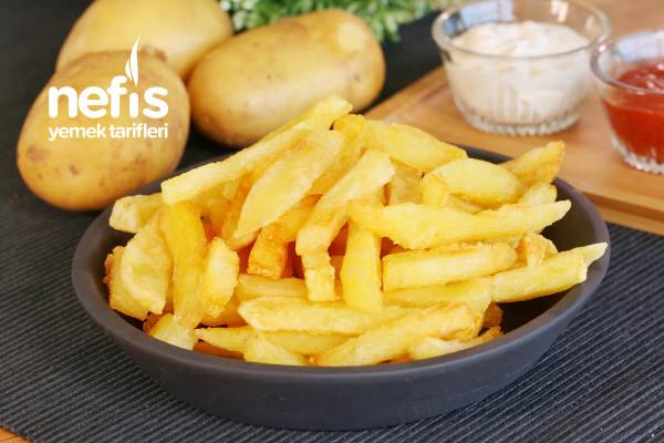 Dondurucuda Kızartmalık Patates (videolu) Tarifi