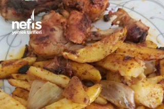 Fırında Soslu Tavuk Patates(Videolu) Tarifi