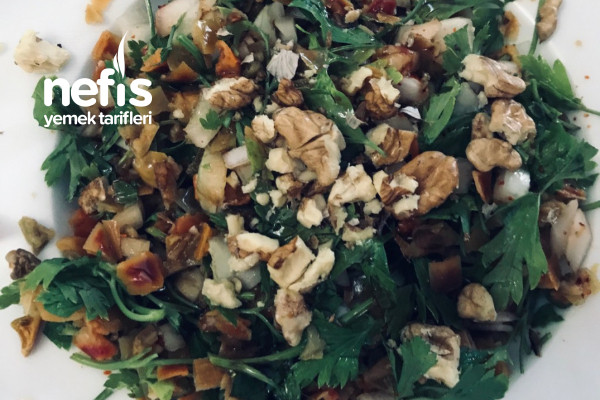 Kuru Biber Salatası (Fit) Tarifi