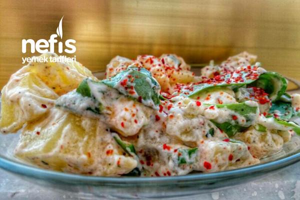 Yoğurtlu Patates Salatası (Denemeyen Pişman) Tarifi