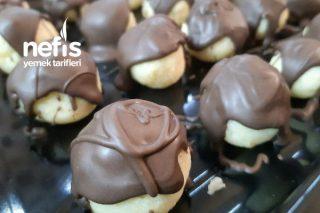 Çikolata Kaplamalı İrmik Topları Tarifi