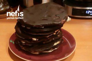 Çikolata Kaplı Pankek Tarifi