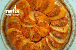Fırında Tavuklu Köfte Patates Tarifi