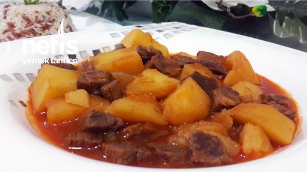 Lokanta Usulü Etli Patates Yemeği Nasıl Yapılır? (Videolu)