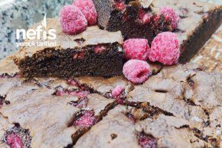 Brownie (Frambuazlı) Tarifi