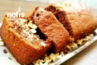 Damla Çikolatalı Cevizli Baton Kek (Hazır Kek Gibi) Tarifi