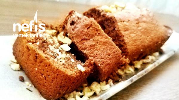 Damla Çikolatalı Cevizli Baton Kek(Hazır kek gibi )