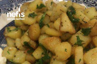 Fırında Çıtır Çıtır Patates Tarifi