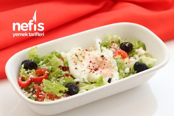 Lorlu Poşe Yumurta (Farklı Diyet Kahvaltı ) Tarifi