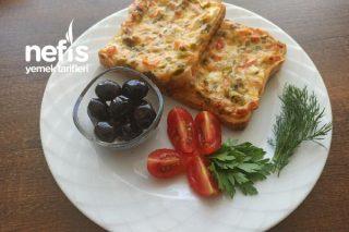 Tost Ekmeğine Muhteşem Sıcacık Kahvaltılık (Videolu) Tarifi