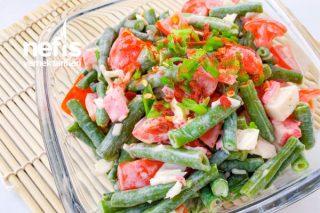 Yeşil Fasülyeli Surimili Salata Tarifi