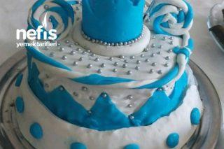 1 Yaş Doğum Günü Pastası Şeker Hamurlu Tarifi
