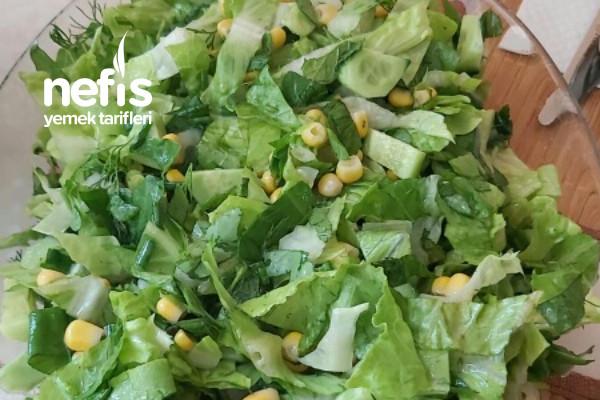 Bol Yeşillik Salatası Tarifi