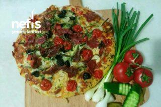 Focaccia Pizza Alışılmışın Dışında Yapılışı Ve Özel Sosu Tarifi