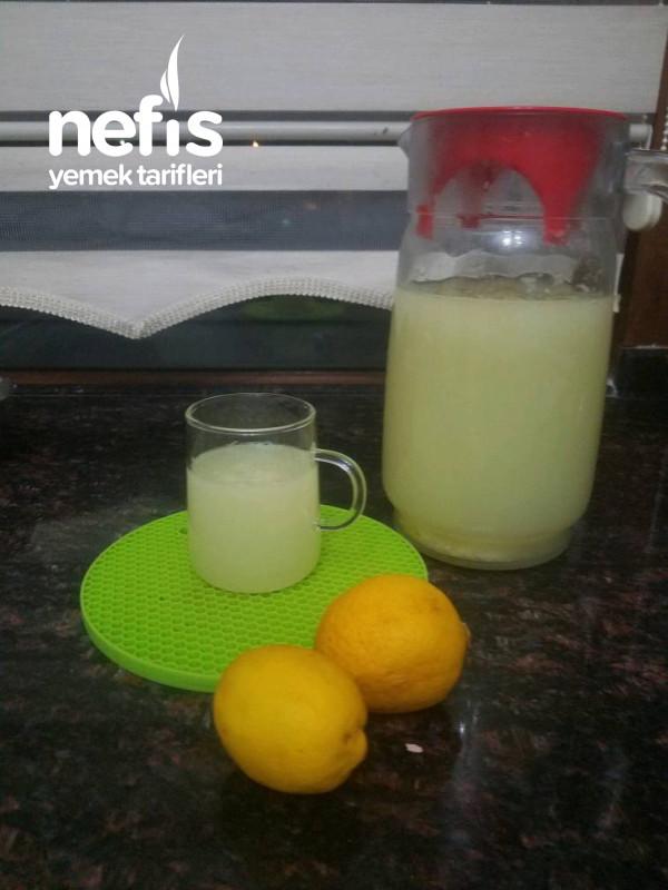 İster Limonata İster Limonlu Gazoz 2 Şekil Tek Tarif