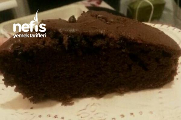 Parça Çikolatalı Kirazlı Kek Tarifi