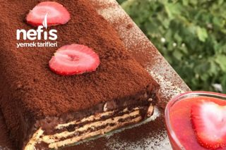 Yeni Yorumu İle Bisküvi Pastası Tarifi