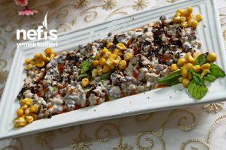 Buğdaylı Yeşil Mercimekli Fresh Salata (Tarifi Çok Beğeneceksiniz)