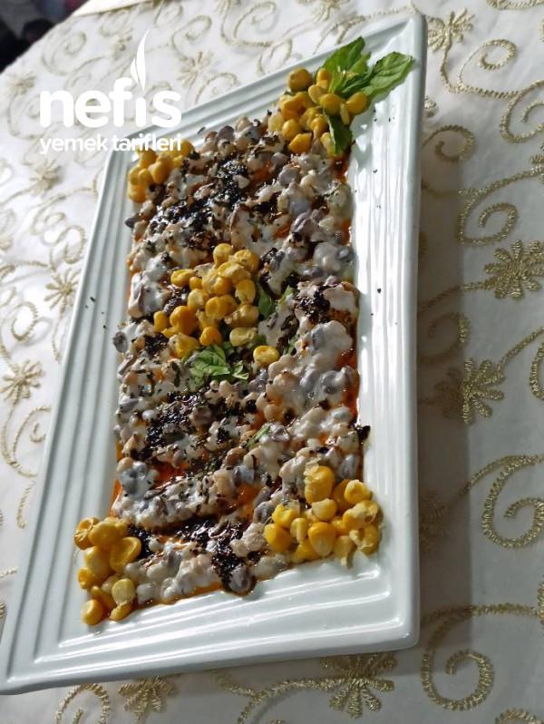 Buğdaylı,yeşil mercimekli Fresh salata(tarifi çok beğeneceksiniz)