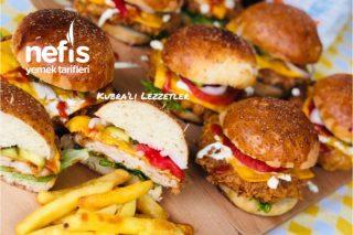 Chicken Burger Tarifi