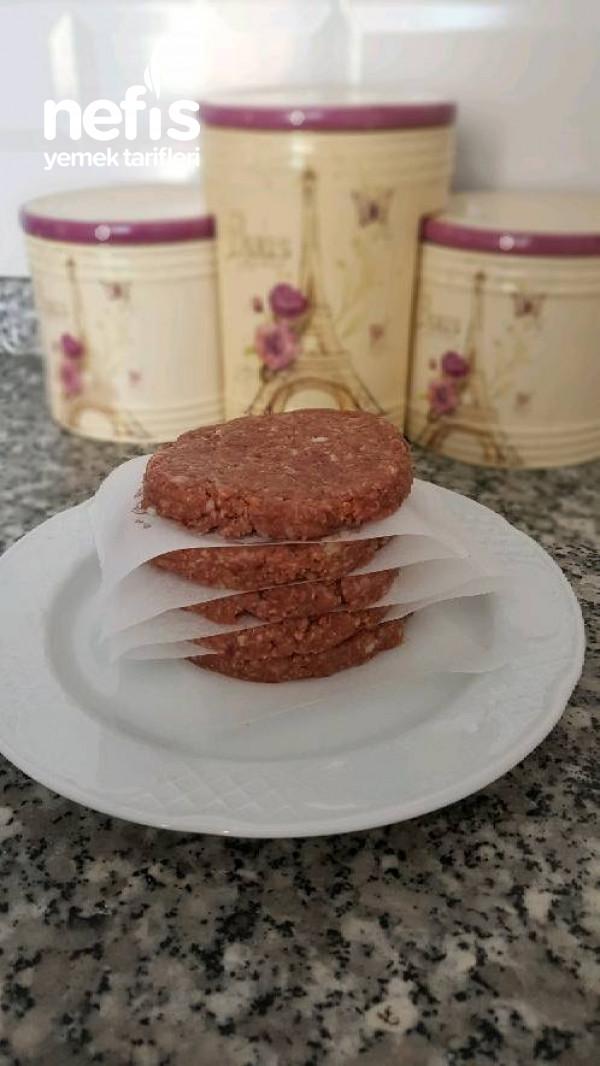 Hazır Hamburger Köftesi (Buzluğa Atilir)