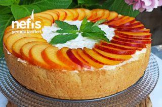 Şeftalili Yaz Pastası Tarifi