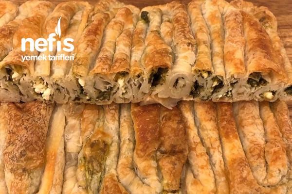 Çarşaf Böreği Ispanaklı Tarifi