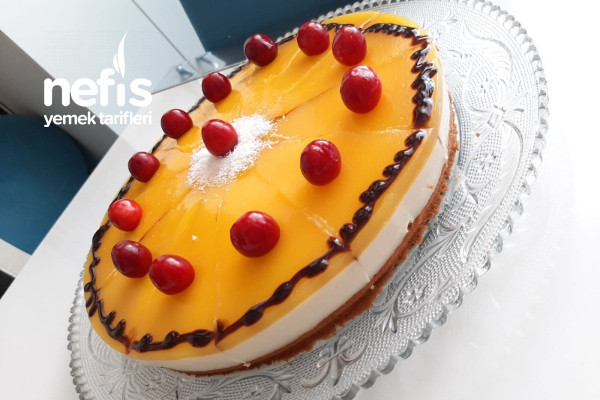 Portakal Jöleli Pasta Tarifi