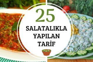 Salatalıkla Yapılan 25 Değişik Tarif Tarifi