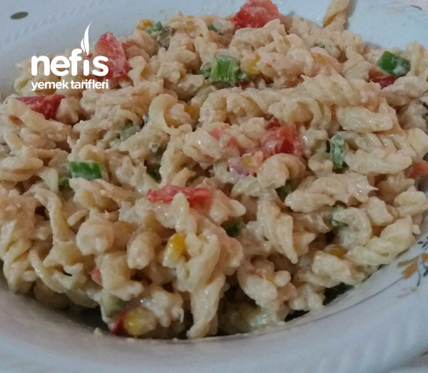 Ton Balıklı Makarna Salatası