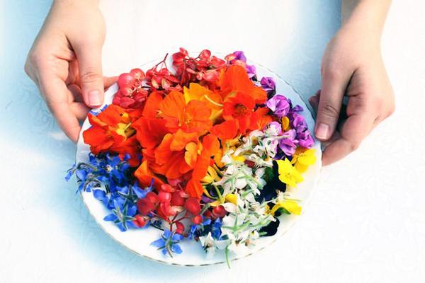 yenilebilir pasta çiçeği