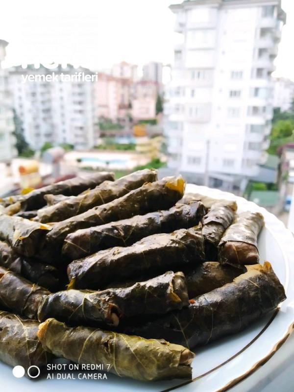 Zeytinyağlı Taze Yaprak Sarma
