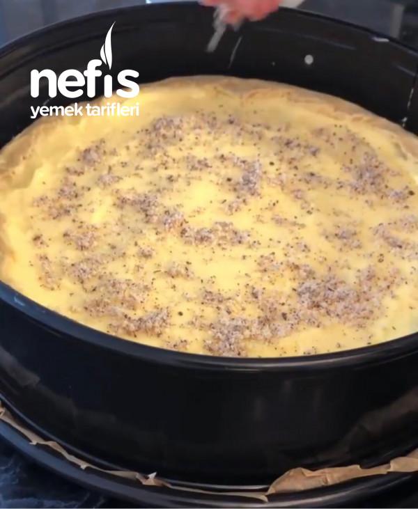 Elmalı Pasta Puddingli
