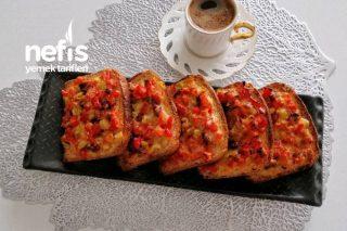Kahvaltı İçin Sıcak Sandviç (Videolu) Tarifi
