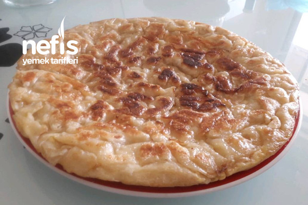 Kahvaltılık Kırpık Böreği (Tavada) Tarifi