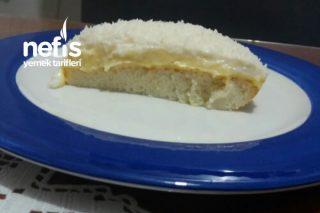 Peri Kızı (Beyaz Kremalı Pasta) Tarifi