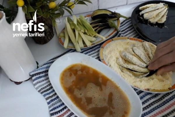 Tadına Doyulmayan Mısır Unlu Çıtır Sebzeler