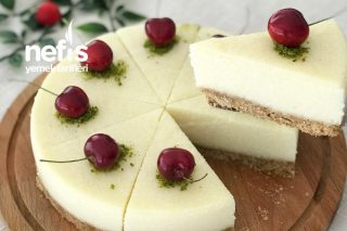 Bisküvi Tabanlı İrmikli Pasta Tarifi